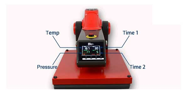 Heat Press Time and Temperature Guide with Chart