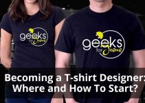 Becoming a T-shirt Designer: Where and How To Start?