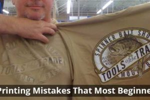 T-shirt Printing Mistakes
