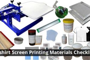 T-shirt Screen Printing Materials