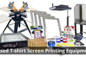 Used T-shirt Screen Printing Equipment: Should You Consider?