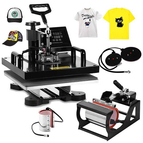 MOPHORN 6-PCS HEAT PRESS