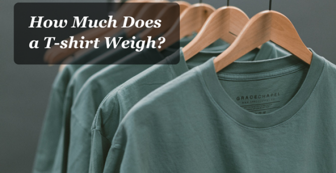 t-shirt weight