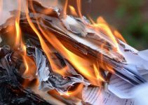 How To Burn Paper Documents at Home