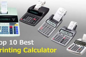 best printing calculator