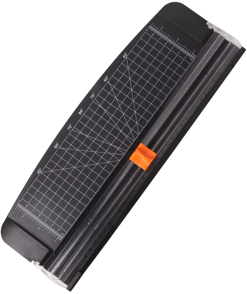 JIELISI AUTOMATIC 12-INCH PAPER TRIMMER A4 SIZE